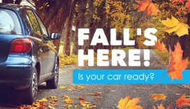 Essential Fall Vehicle Maintenance Tips