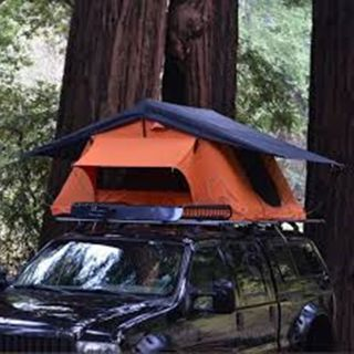 Soft Shell Car Tent Roof top Tent Fits 2 People, for Truck/SUV/Car/Etc