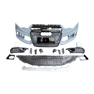 High quality Auto Body Kit For Audi A6 C7 RS6 Style Front Bumper With grill All Accessory 2012 2013 2014 2015