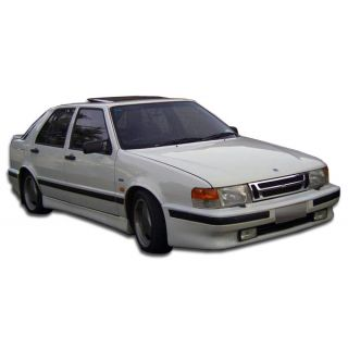 1986-Saab 9000 5DR HB Duraflex Body Kits Turbo Look Front Bumper Cover - 1 Piece (Clearance) -- 105427