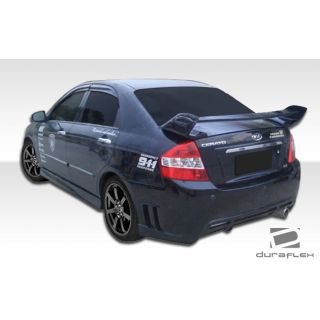 2007-Kia Spectra Duraflex Body Kits Edan Rear Bumper Cover - 1 Piece -- 107449