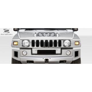 2003-Hummer H2 Duraflex Body Kits BR-N Foglight Panel for Hood - 1 Piece -- 107748