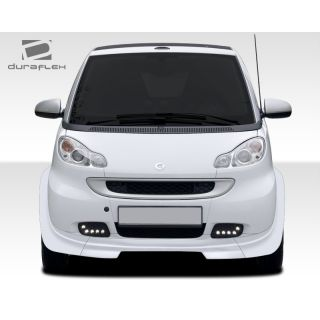 2008-Smart ForTwo Duraflex Body Kits GT300 Wide Body Front Lip Under Spoiler Air Dam - 1 Piece -- 107839