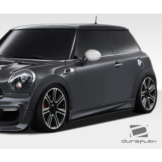 2007-Mini Cooper Duraflex Body Kits DL-R Side Skirt Splitters - 2 Piece -- 108448