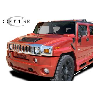2003-Hummer H2 Couture Vortex Wide Body Front Bumper - 1 Piece -- 109169
