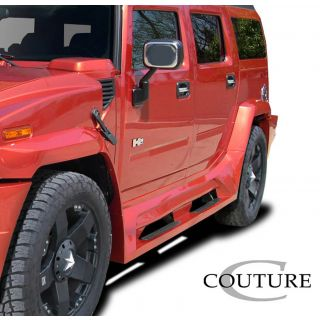 2003-Hummer H2 Couture Vortex Wide Body Side Skirt Rocker Panels - 2 Piece -- 109170