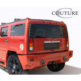 2003-Hummer H2 Couture Vortex Wide Body Rear Bumper - 1 Piece -- 109171