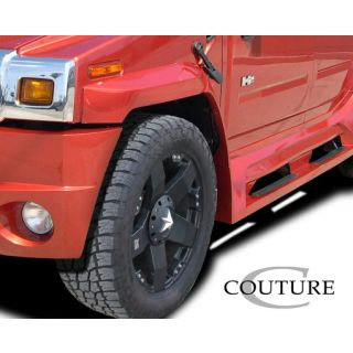 2003-Hummer H2 Couture Vortex Wide Body Front Fender Flares - 4 Piece -- 109172