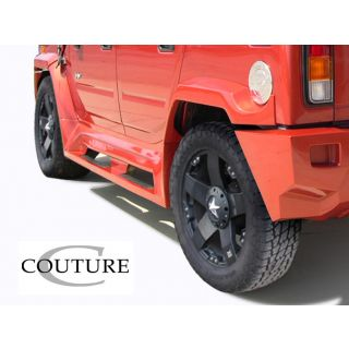 2003-Hummer H2 Couture Vortex Wide Body Rear Fender Flares - 2 Piece -- 109173