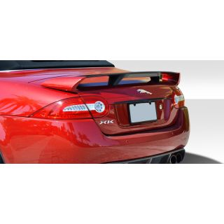 2007-Jaguar XK Duraflex Body Kits XKR-S Look Rear Wing Trunk Lid Spoiler - 1 Piece -- 109693