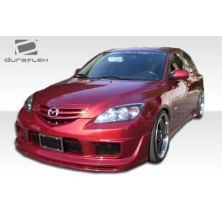 2004-Masda Mazda 3 HB Duraflex Body Kits K-1 Body Kit - 4 Piece -- 111225