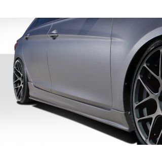 2011-Hyundai Hondai Sonata Duraflex Body Kits Racer Side Skirt Rocker Panels - 2 Piece -- 112242