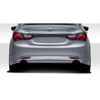 2011-Hyundai Hondai Sonata Duraflex Body Kits Racer Rear Lip Under Air Dam Spoiler - 1 Piece -- 112243