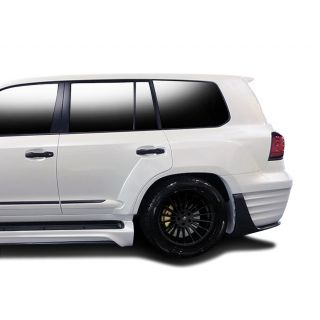 2008-Lexus Lexis LX570 AF-1 Wide Body Rear Fender Flares ( GFK / PUR-RIM ) - 4 Piece -- 112295