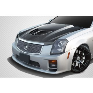 2003-Cadilac Cadillac CTS Carbon Creations Stingray Z Hood- 1 Piece -- 112414
