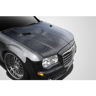 2005-GM Chrysler 300 300C Carbon Creations Challenger Hood - 1 Piece -- 112476
