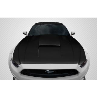 2015-Ford Motors  Mustang Carbon Creations CVX Hood - 1 Piece -- 112582