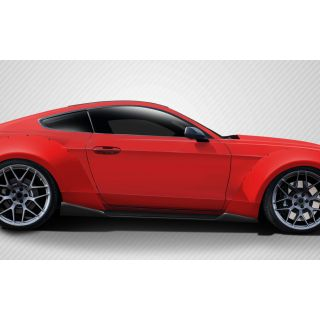 2015-Ford Motors  Mustang Carbon Creations Grid Side Skirts Rocker Panels - 2 Piece -- 112585