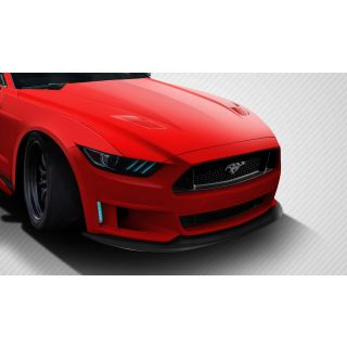 2015-Ford Motors  Mustang Carbon Creations Grid Front Lip Spoiler - 1 Piece -- 112587