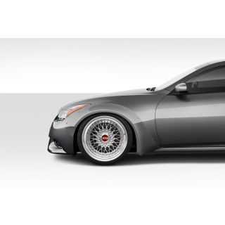 2008-Infinity Infiniti G Coupe G37 Q60 Duraflex Body Kits Circuit 75MM Front Fender Flares - 2 Piece -- 112609