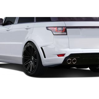 2014-Land Rover Range Rover Sport AF-2 Wide Body Rear Fender Flares ( PUR-RIM ) - 4 Piece -- 112680