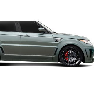 2014-Land Rover Range Rover Sport AF-2 Wide Body Front Door Caps ( PUR-RIM ) - 2 Piece -- 112681