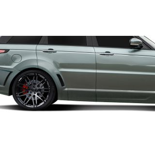 2014-Land Rover Range Rover Sport AF-2 Wide Body Rear Door Caps ( PUR-RIM ) - 2 Piece -- 112682